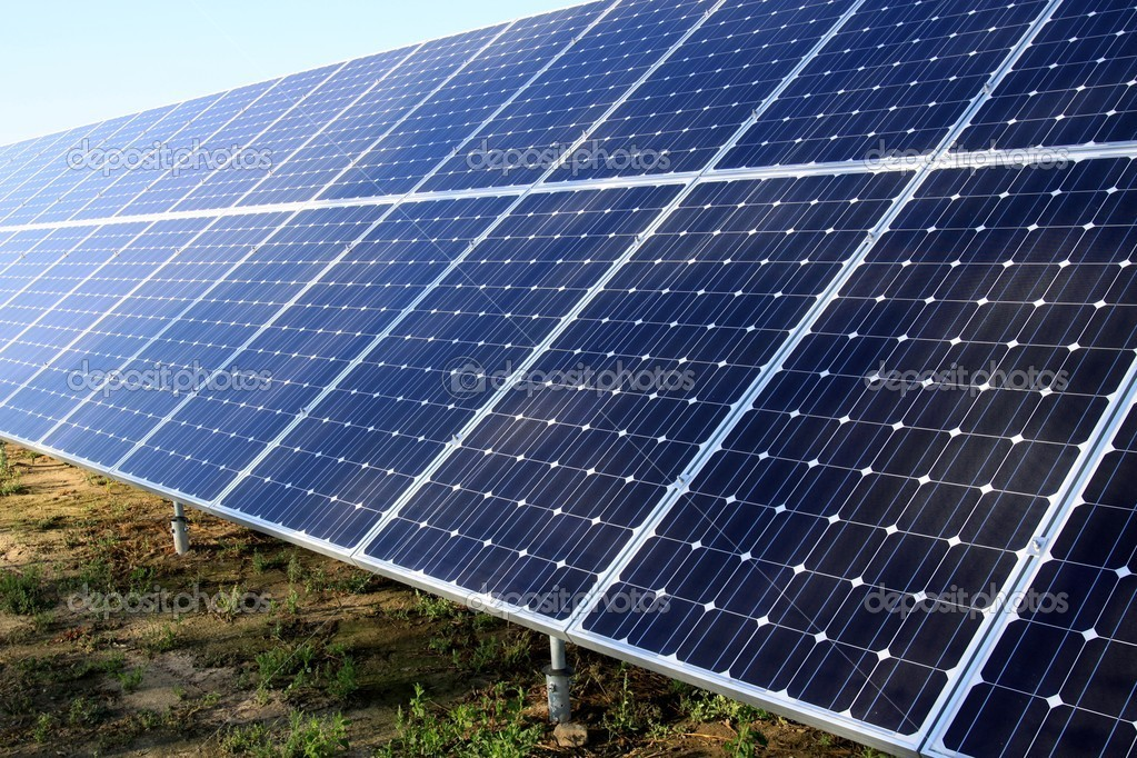 Solar panels - ecology energy  — Stock Photo #2338116
