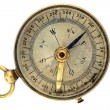 Stock Photo: Old antique compass