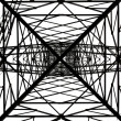Electric pylon - Stock Photo