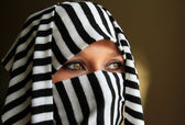 Cleopatra style beautiful arabic woman — Stock Photo