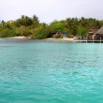 Paradise island panoramic — Stock Photo