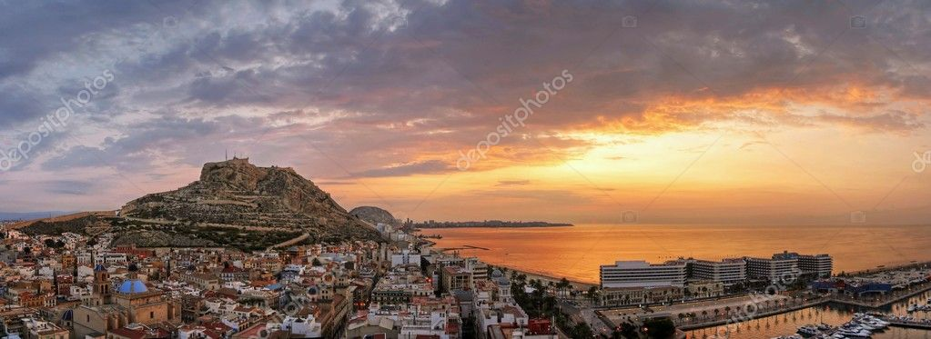 Alicante sunrise stock photo mustang 79 2288247 - Stock uno alicante ...