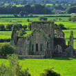 Old Abbey in Cashel — Stock Photo