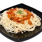 Spaghetti bolognaise — Stock Photo