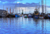 Harbour in Galway — Stock Photo