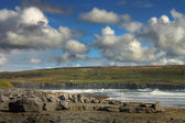 Burren coastline — Stock Photo