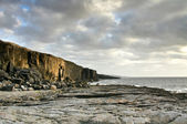 Fanore cliff — Stock Photo