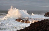 Atlantic wave explosion — Stockfoto