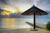 зонты восход — Стоковое фото
