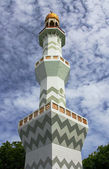 Minaret in Male — Stock Photo