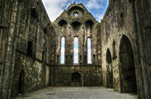Rock of Cashel - ruins interior — Stock Photo