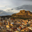 Alicante at sunset — Stock Photo #2445061