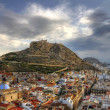 Alicante dawn — Stock Photo