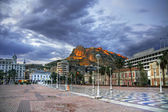 Streets of Alicante — Stock Photo