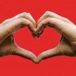 Love symbol — Stock Photo