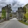 Entrance to Ashford castle — Stock Photo