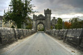 Welcome to Ashford castle — Stock Photo
