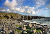 Irlandzkiego wybrzeża atlantyku — Zdjęcie stockowe