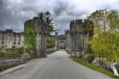 Entrance to Ashford castle — Stock Photo