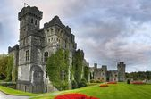 Ashford castle panoramic — Stock Photo