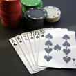 Stock Photo: Black poker