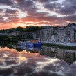 Dawn in New Ross — Stock Photo #2473797