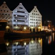 Gdansk at night.. — Stock Photo