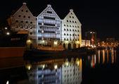 Gdansk at night.. — Stock Photo