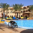 Disability vacations - Foto Stock