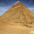 Cheops pyramid in Giza — Stock Photo