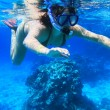 Snorkeling in red Sea — Stock Photo #2632172