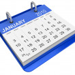 Royalty-Free Stock Photo: January 2010 - Calendar
