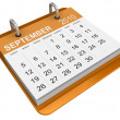 September 2010 - Calendar - Stock Photo