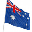 Royalty-Free Stock Photo: 3D Australian flag