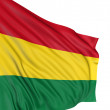 Royalty-Free Stock Photo: 3D Flag of Bolivia