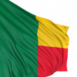 Royalty-Free Stock Photo: 3D Flag of Benin