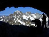 Alpinismo — Foto de Stock