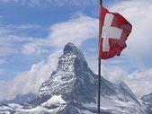 瑞士马特洪峰 — 图库照片