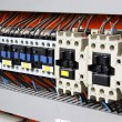Stock Photo: Electrical panel