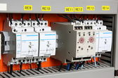 Automatic electricity switcher — Stock Photo