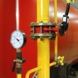 Stock Photo: Manometer pressure