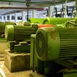 Old electric motors — Foto de Stock