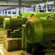 Stock Photo: Old electric motors