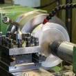 Stock Photo: Lathe