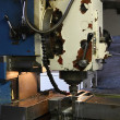 Vertical milling machine — Stock Photo
