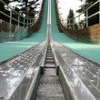 Ski jump tower - Stock Photo