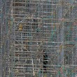 Construction scaffolding — 图库照片