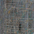 Stock Photo: Construction scaffolding