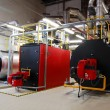 Stock Photo: Gas boilers