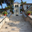 Stairs to Faneromeni monastery — Stock Photo